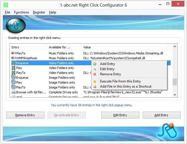 1-abc.net Right Click Configurator
