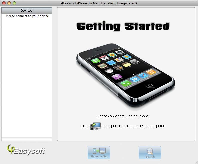 4Easysoft iPhone to Mac Transfer