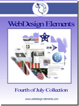 4th of July Web Elements