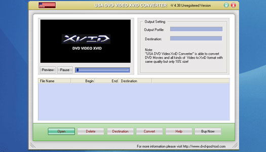 Alice DVD any Video to XviD Converter