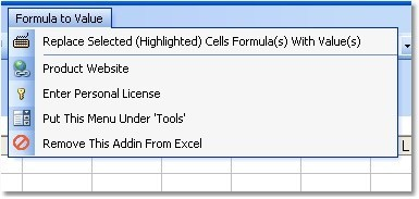 Excel Replace Multiple Formulas With Cell Values Software