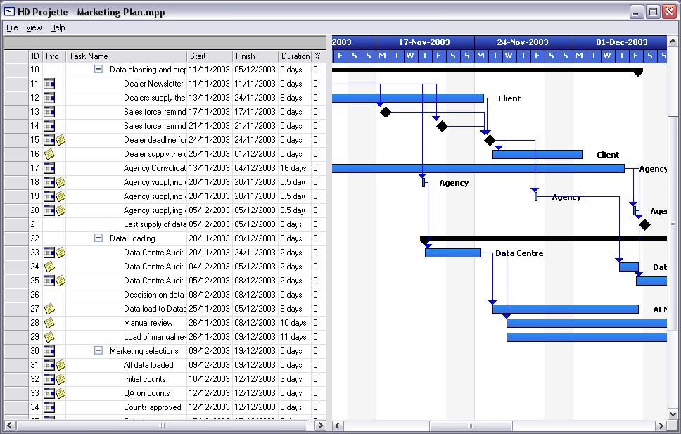HD Projette - Microsoft Project Viewer