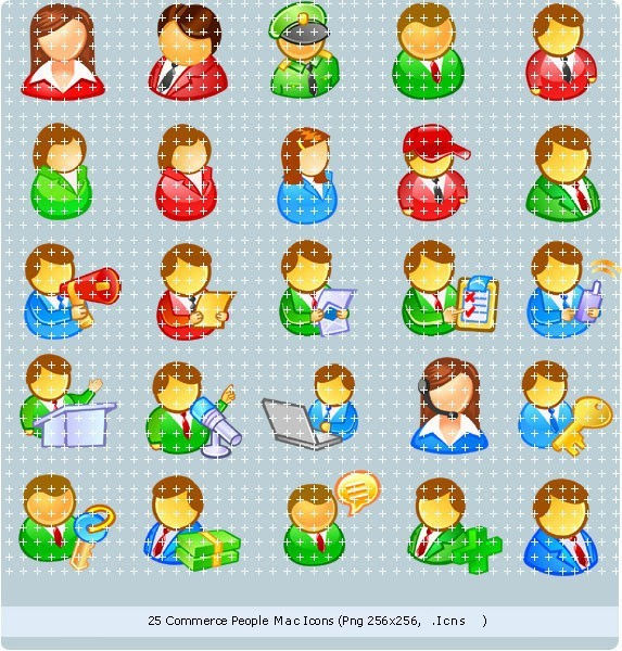Commerce People Mac Icons
