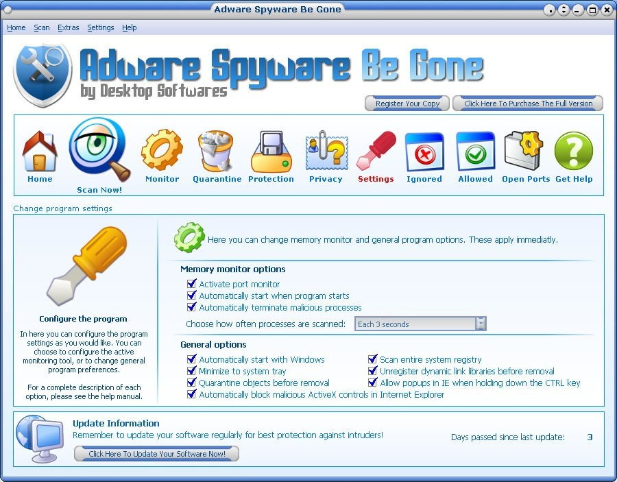 Adware Spyware Be Gone