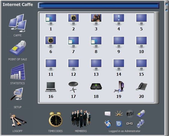 Cyber Internet Cafe Software - Internet Caffe