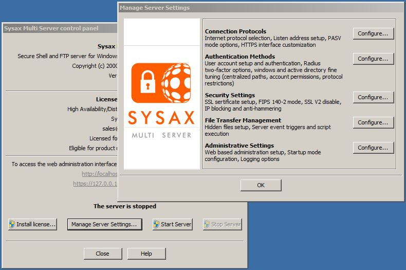 Sysax Multi Server