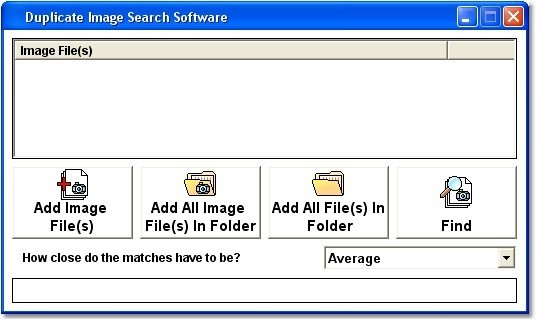 Duplicate Image Search Software