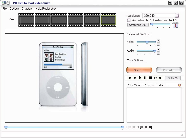 PQ DVD to iPod Video Converter Suite Bui