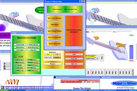 Guitar Learning Software