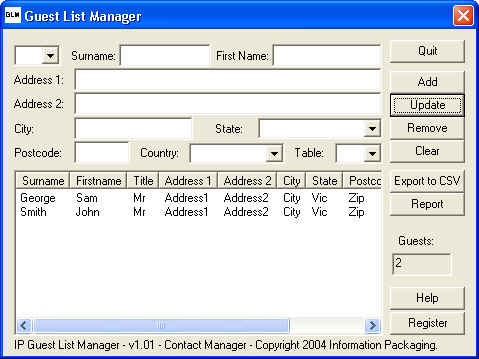 IP Guest List Manager