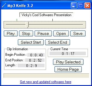 Mp3 Knife