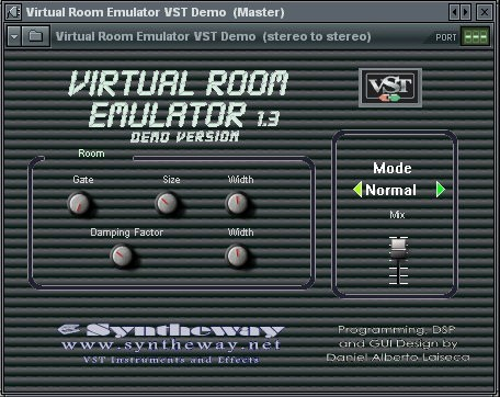 Virtual Room Emulator VST