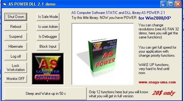 AS POWER WIN32 DLL