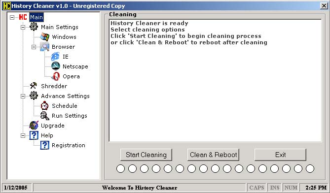 History Cleaner- Free Version