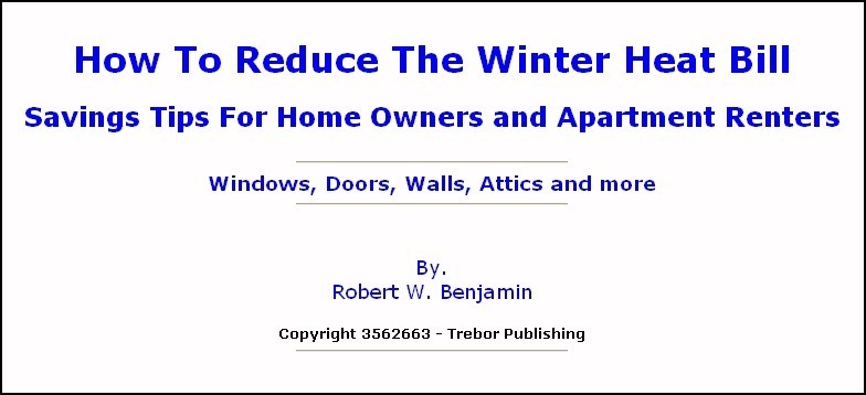 How To Reduce The Winter Heat Bill