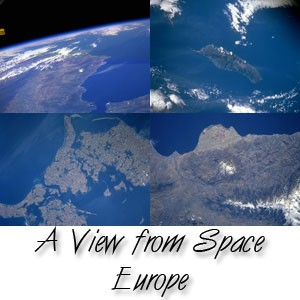 A View fom Space- Europe Screensaver