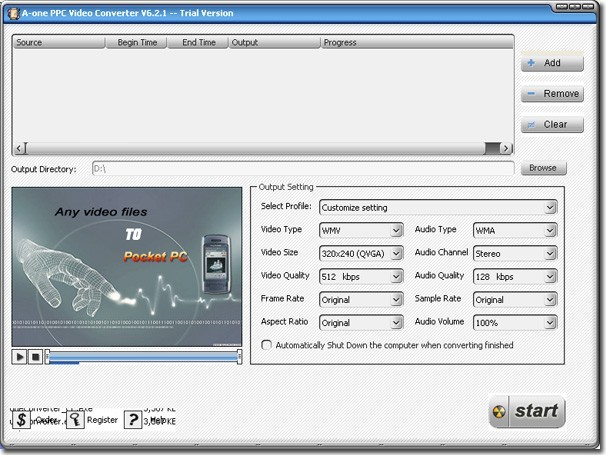 A-one PPC Video Converter