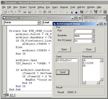 ActiveComport Serial Port Toolkit