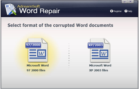 AdreamSoft Word Repair