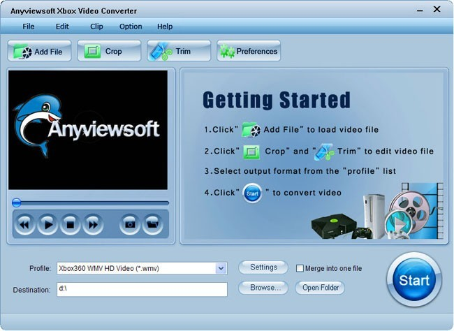 Anyviewsoft Xbox Video Converter