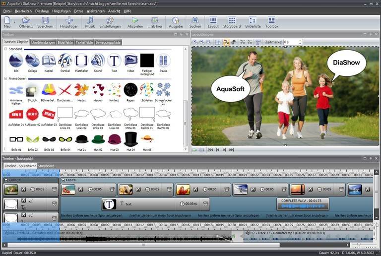 AquaSoft SlideShow Premium
