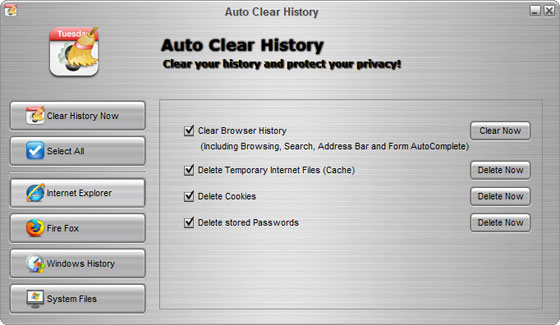 Auto Clear History