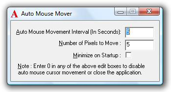 Auto Mouse Mover