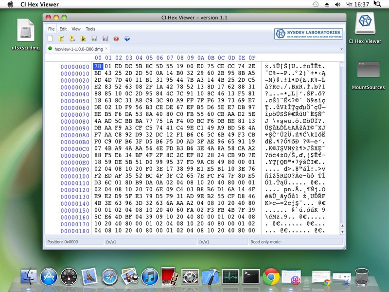 CI Hex Viewer (Mac OS)