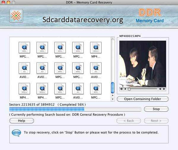 Card Data Recovery Mac