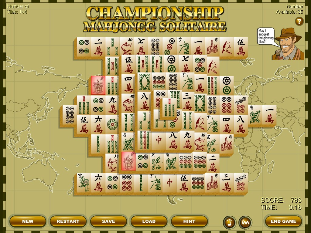 Championship Mahjongg Solitaire for Windows