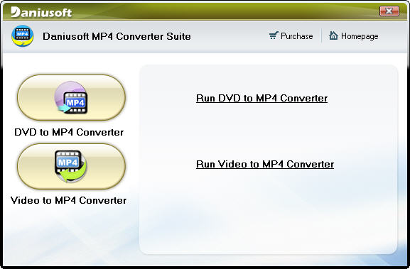 Daniusoft MP4 Converter Suite