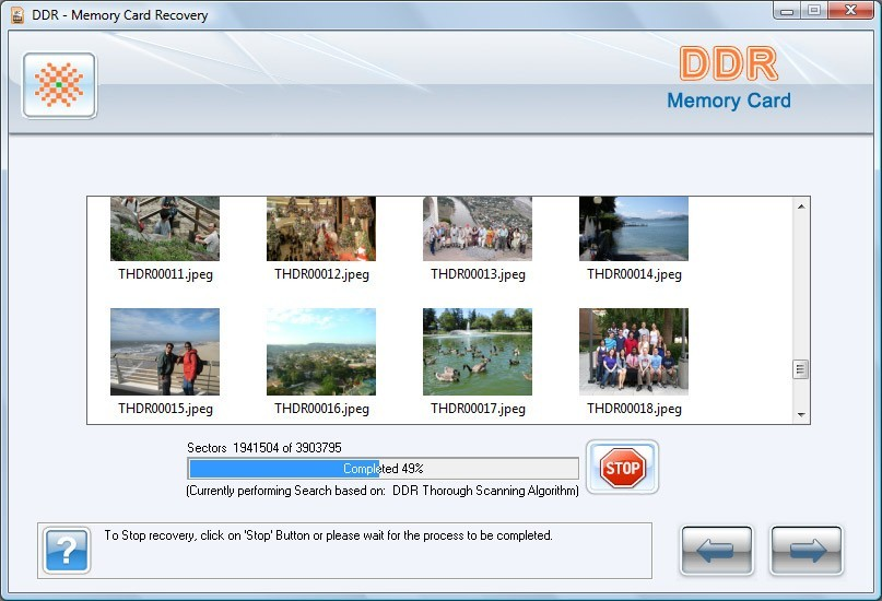 Data Card Recovery