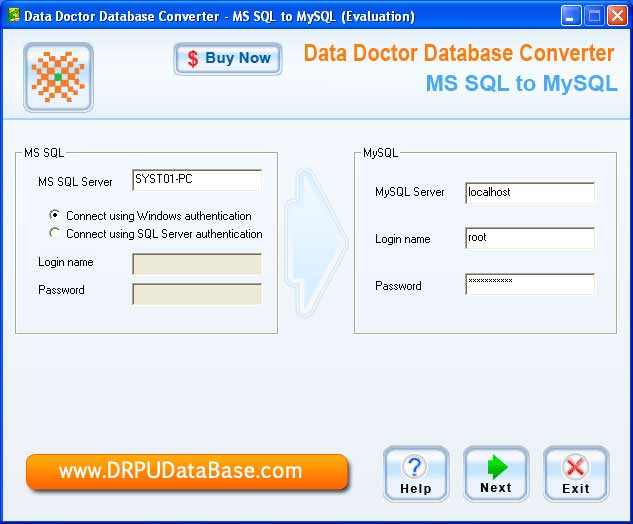 Database Conversion Software