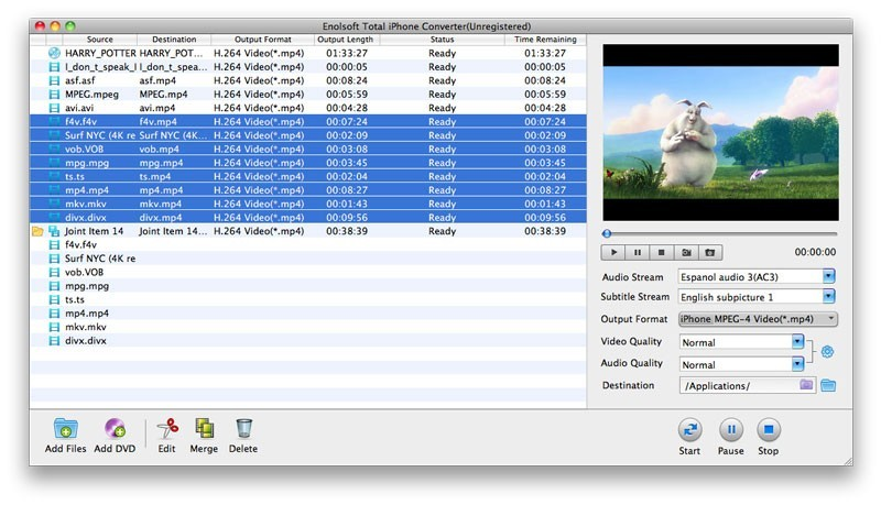 Enolsoft Total iPhone Converter for Mac