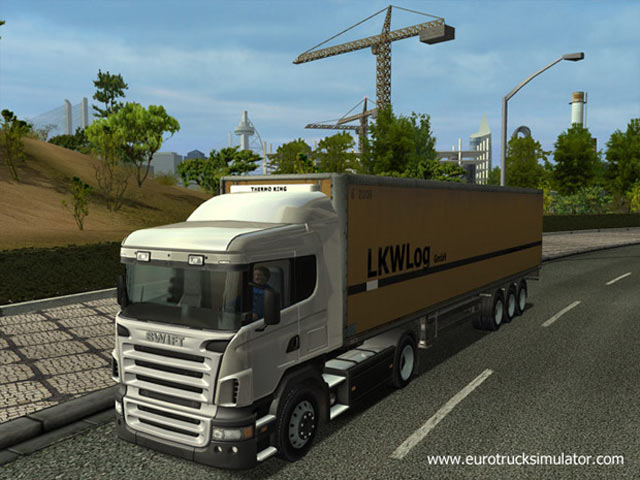 Euro Truck Simulator Main Window SCS Software Drive Your