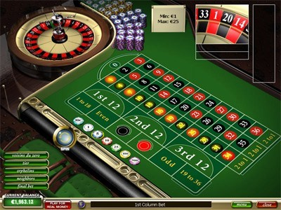 European Roulette Portable Multilingual