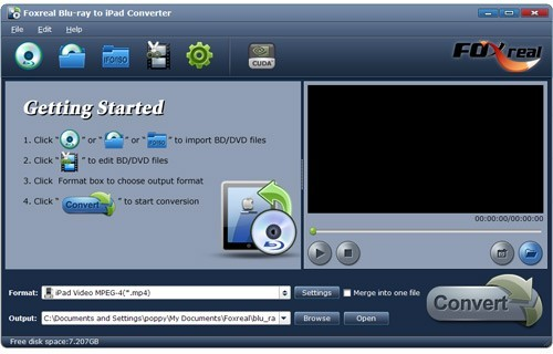 Foxreal Blu-ray to iPad Converter