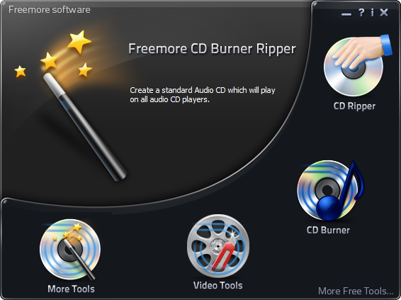 Freemore CD Burner Ripper