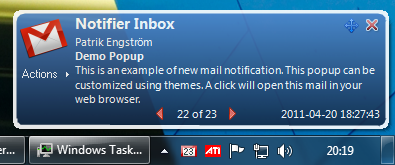 Gmail Notifier Pro