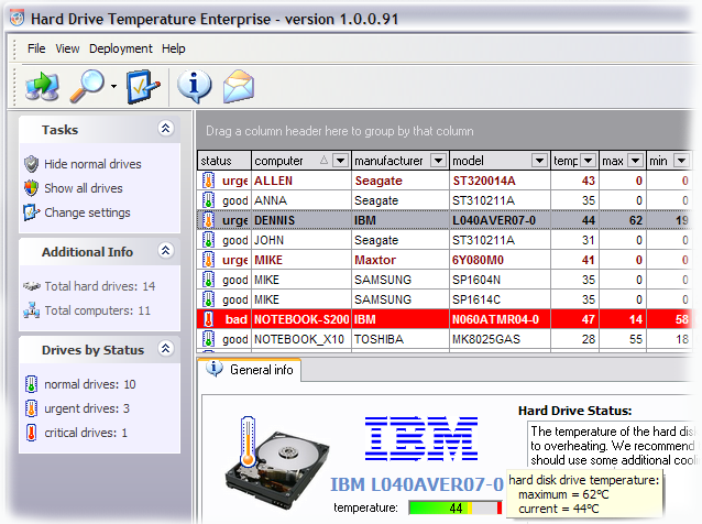 HDD Temperature Enterprise