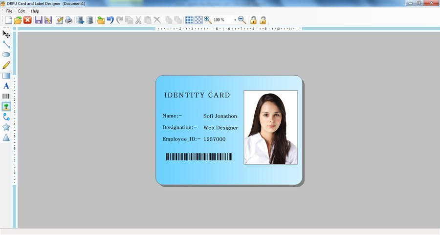 ID Card Designing Software