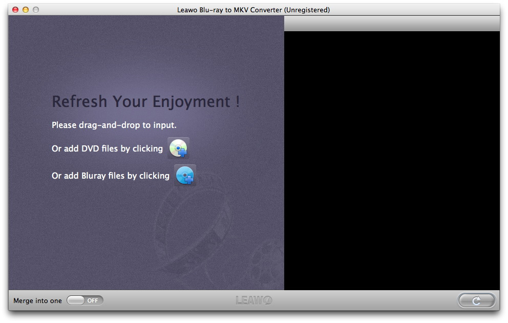 Leawo Blu-ray to MKV Converter for Mac