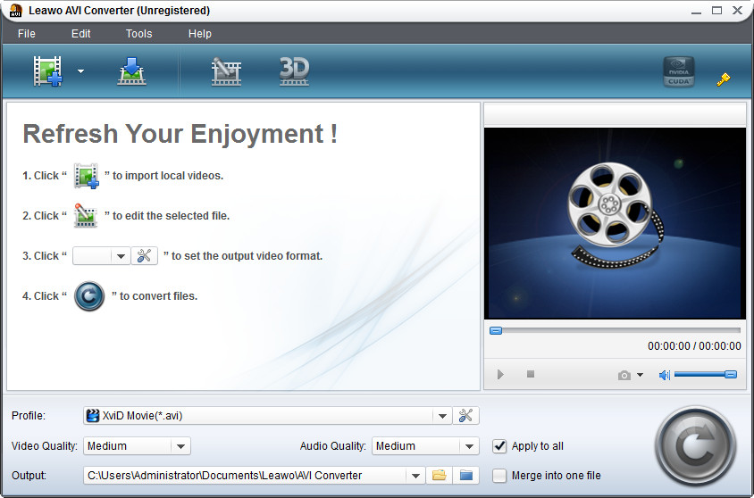 Leawo MP4 to MP3 Converter