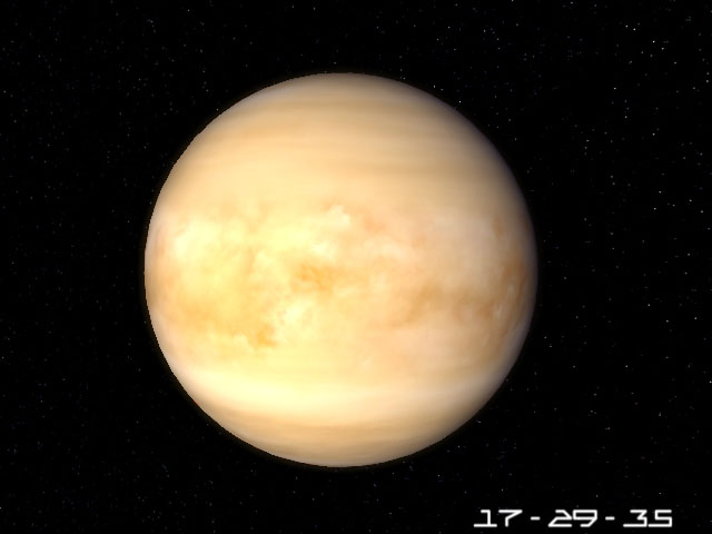 Planet Venus 3D Screensaver