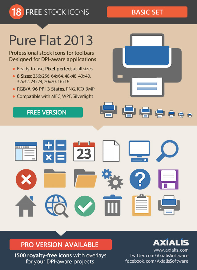 Pure Flat 2013 - Basic Set - Free