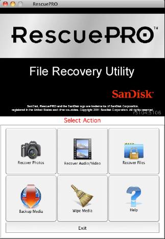 RescuePRO for OS X Mac