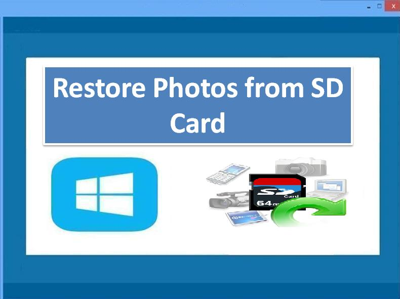 Restore Photos from SD Card