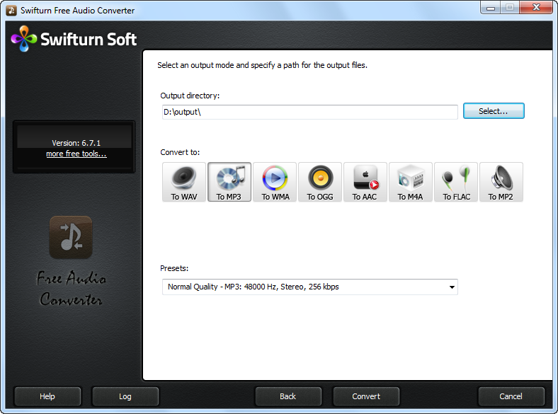 Swifturn Free Audio Converter
