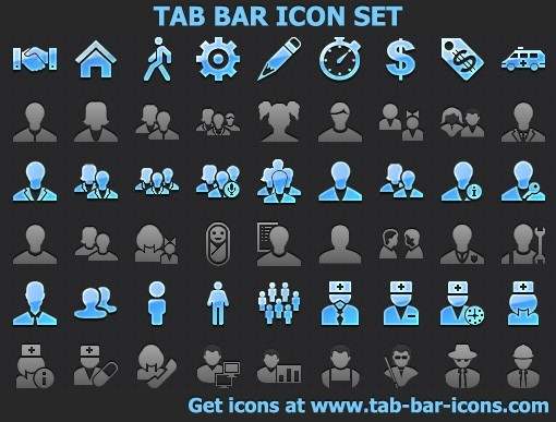 Tab Bar Icon Set