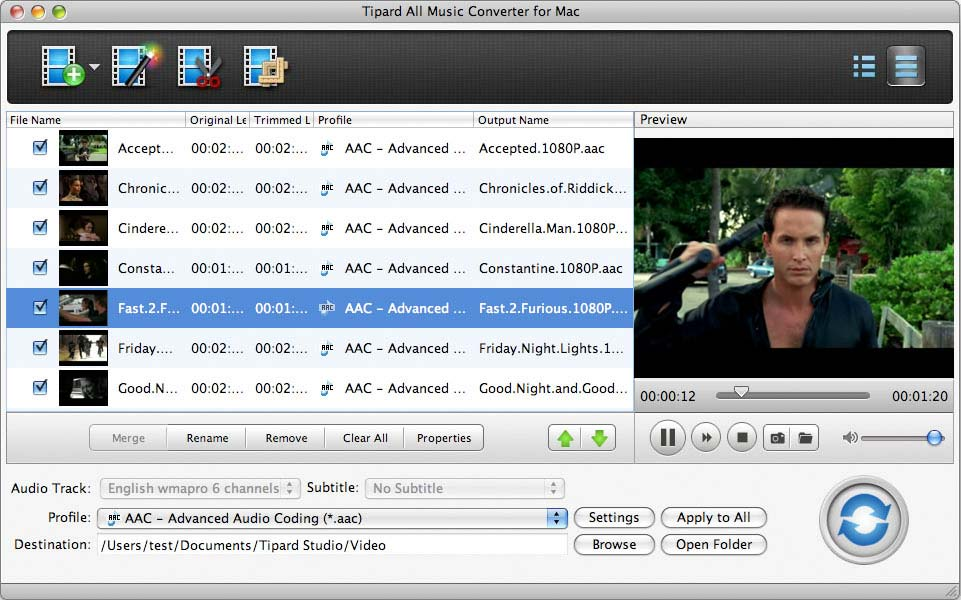 Tipard All Music Converter for Mac